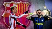 يورو بيبرز: ايكاردي ينفي انتقاله .. بيريز يريد سرقة نجم برشلونة .. وغريزمان يختار برشلونة