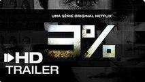 3% (2ª Temporada) - Teaser Trailer   Netflix
