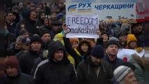 Ukraine : une foule réclame la libération de Mikheïl Saakachvili