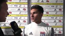 Réactions - Houssem Aouar - Amiens SC - Olympique Lyonnais