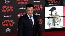 """Benicio del Toro """"Star Wars The Last Jedi"""" World Premiere Red Carpet"""