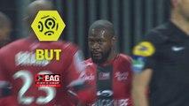 But Yannis SALIBUR (40ème) / EA Guingamp - Dijon FCO - (4-0) - (EAG-DFCO) / 2017-18