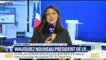 """Laurent Wauquiez élu à la tête du parti """"Les Républicains"""""""