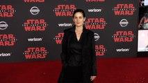 "Carrie-Anne Moss ""Star Wars The Last Jedi"" World Premiere Red Carpet"