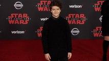 """Gaten Matarazzo """"Star Wars The Last Jedi"""" World Premiere Red Carpet"""