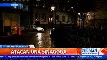 Al menos tres personas fueron detenidas tras intentar incendiar una sinagoga en Gotemburgo, Suecia