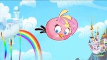 Angry Birds Transform into My Little Pony Princess - MLP and Angry Birds Transform Learning Colors-TO3sVIqI4_o