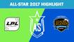 Highlight: Siêu Sao Trung Quốc (LPL) vs Siêu Sao Bắc Mỹ (NA LCS) - All-Star 2017 Highlight