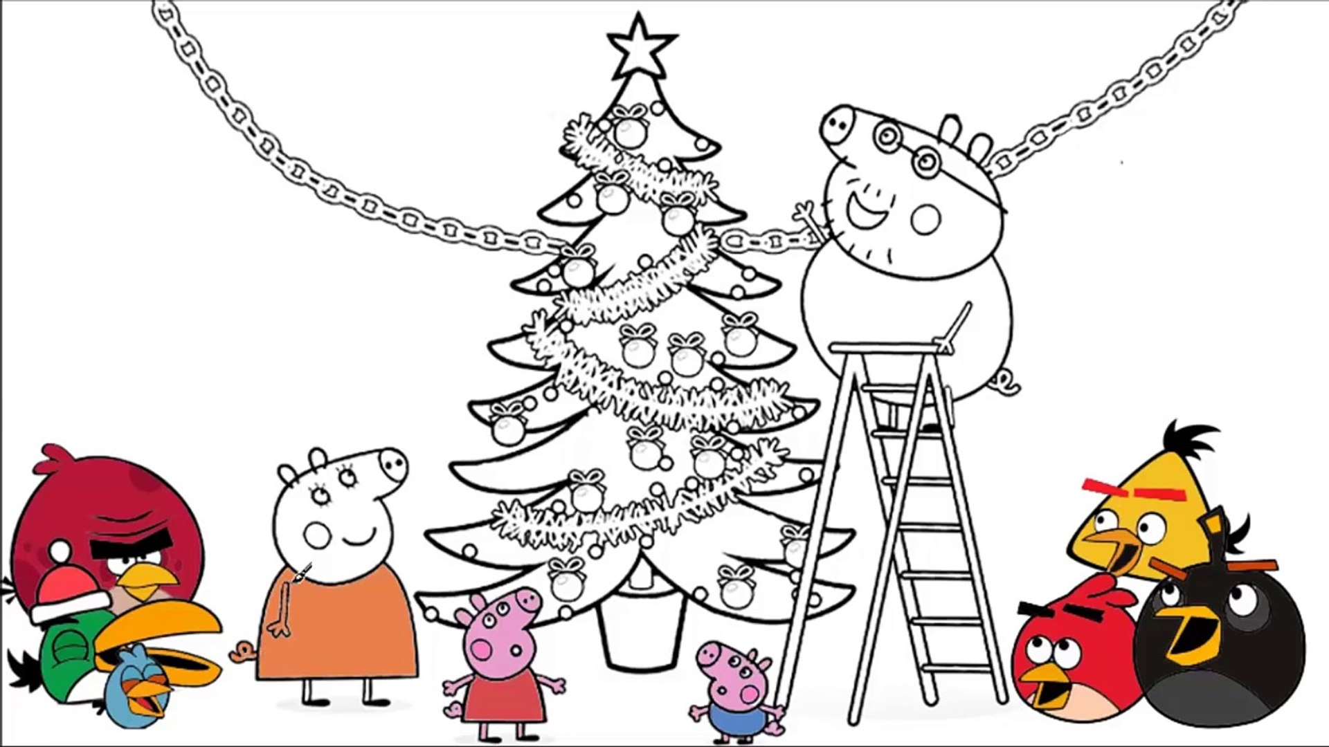 Mindful Holiday Coloring Sheets for Young and Old   1080x1920