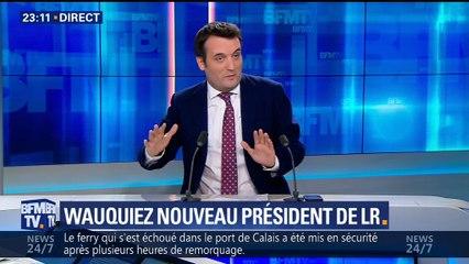"""Calmels sur une alliance Wauquiez-Le Pen : """"pour le moment, nous la refusons"""""""
