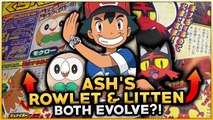 ASH'S ROWLET & LITTEN BOTH EVOLVE! NEW INFORMATION ABOUT THE POKEMON SUN & MOON ANIME!-iH6XDGNCvec