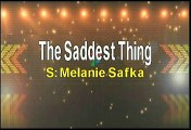 Melanie Safka The Saddest Thing Karaoke Version