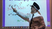 Laws of indices made simple by a policeman (Check out my dance moves)