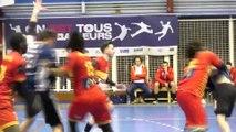 Quelques belles actions du match Martigues Handball St Etienne