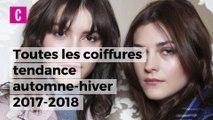 Les tendances coiffures automne-hiver 2017-2018