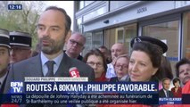 "Routes à 80km/h: Edouard Philippe favorable ""à titre personnel"""