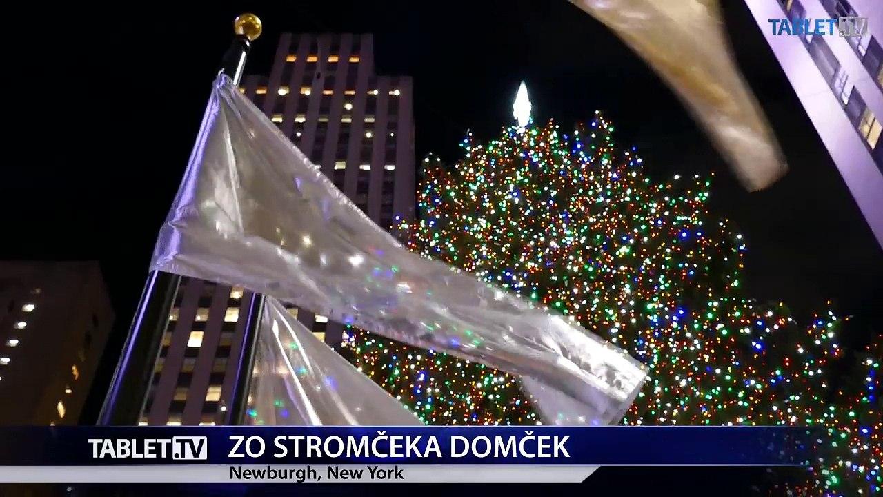Najväčší stromček spred Rockefellerovho centra využijú po Vianociach stavbári