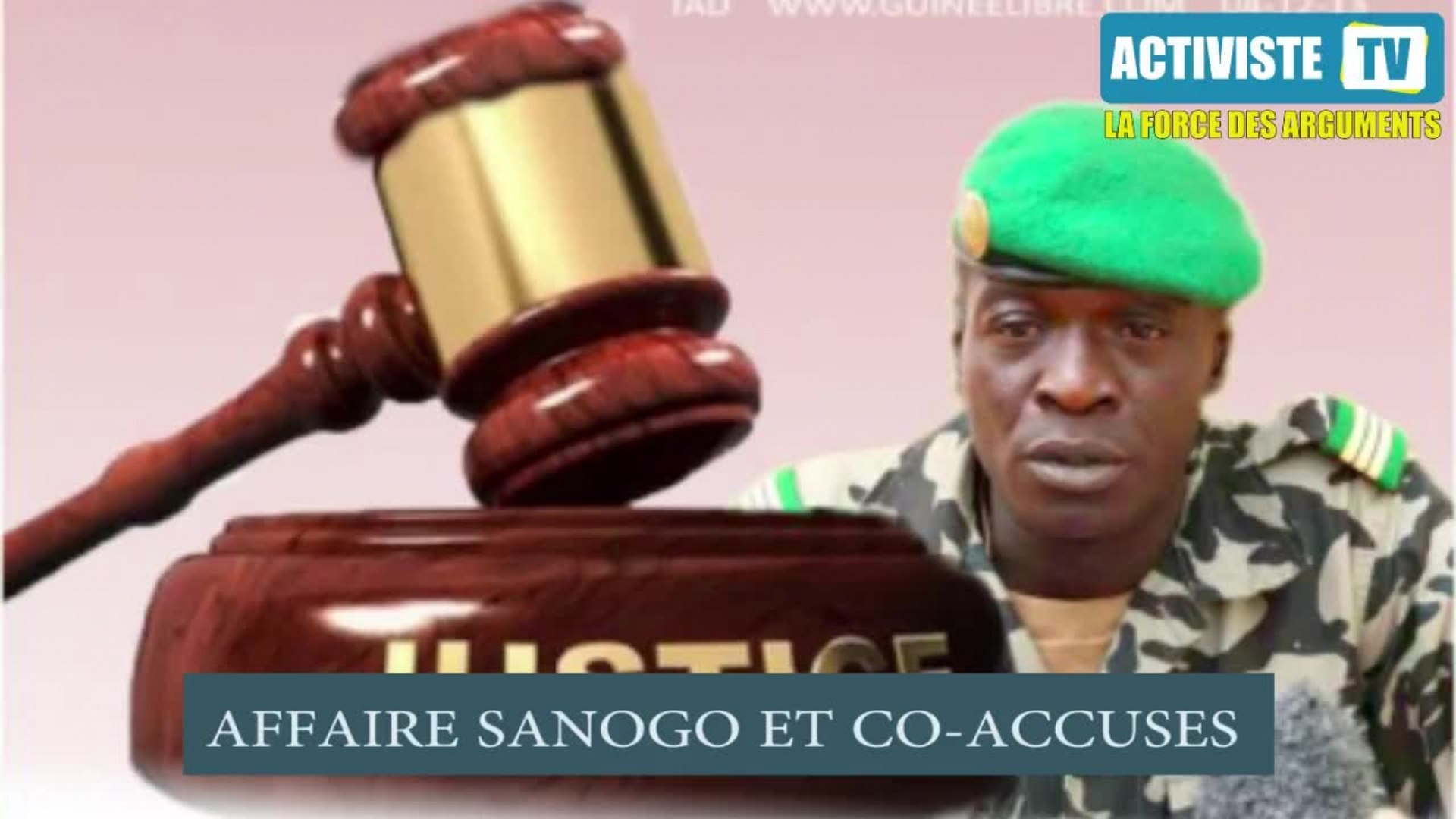 Activiste TV - Affaire Sanogo et proches - jugement ou liberté