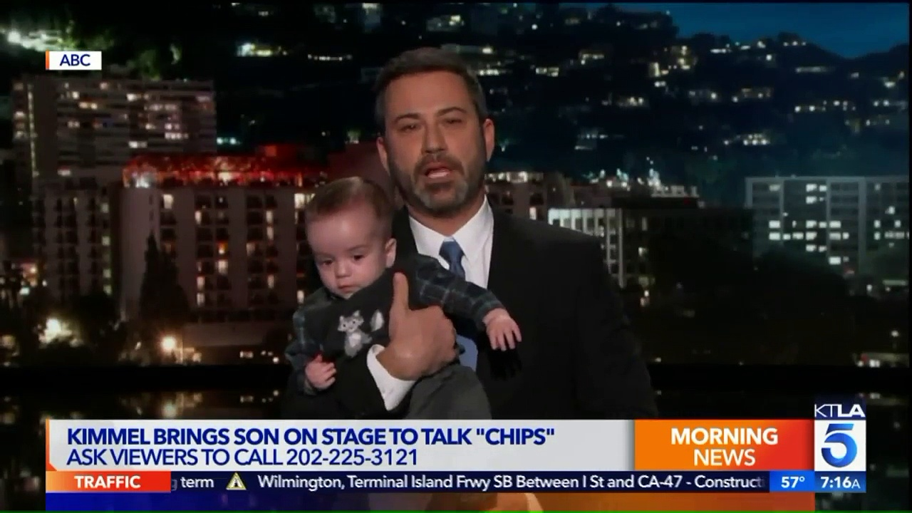 Jimmy Kimmel's Son Makes TV Appearance After Heart Surgery