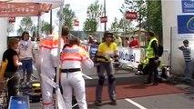 """""""Attention à la mousse"""", les chutes en roller à l'arrivée de cette course à Strasbourg"""
