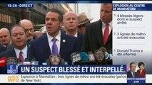 """Explosion à Manhattan: """"C'était un engin très artisanal"""", a déclaré le gouverneur de New York"""
