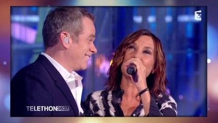 "Garou et Zazie interprètent ""Je te promets"""