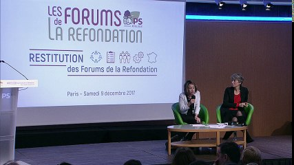 9 décembre : Restitution des Forums de la Refondation Partie 2