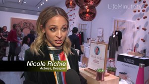Nicole Richie Partners with Jacques Penné (JC Penney's holiday boutique) in NYC