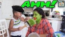 MOMS FACE GETS PRETTY! BOY GETS MAKEUP ON MOMS EYES! DINGLEHOPPERZ MAKEUP VLOG! WHO DID A BETTER JOB?