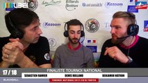 17_18 FFB BLACKBALL TROYES INTERVIEW RAMIER FINALISTE TN