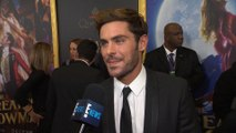 "Zac Efron Talks Filming ""The Greatest Showman"""
