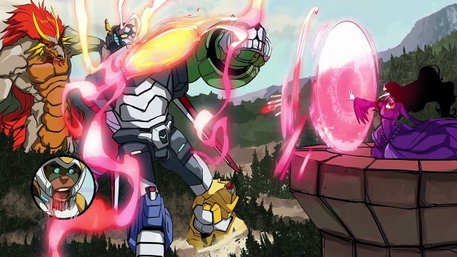 [MOTION COMIC] The Tale of Lance and the Dragon - Part 2 _ DREAMWORKS VOLTRON LEGENDARY DEFENDER-sil3ZHPmPUM