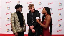 Team JHud_ Noah Mac & Davon REVEAL Hidden Fun Facts About Themselves _ Top 10 _ The Voice 2017