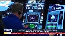 GLOBALITA: Pagbuhay sa space exploration program ng NASA, ipinag-utos ni Pres. Trump; Missile tracking drills, isinagawa