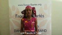 """Votre contribution peut changer nos vies"" Hindou Oumarou Ibrahim"