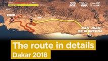 The stage by stage route / El recorrido paso a paso / Le parcours étape par étape - Dakar 2018