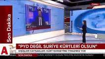 Hükümetten Soçi şartı: Masada PYD değil, Suriyeli Kürtler olsun