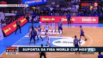 SPORTS BALITA: Suporta sa FIBA World Cup hosting