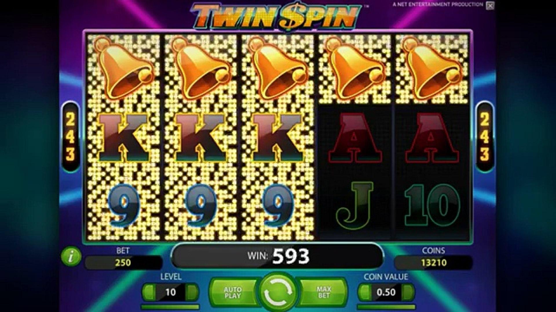Twin Spin gratis online casino slot machine game