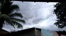 Dark Clouds Spotted in Pampanga Province Ahead of Tropical Storm Kai-tak