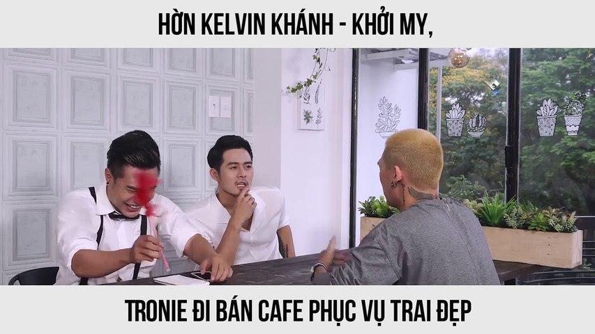 Tronie, Lâm Kinh Tôn, Ginô Tống và Lê Dương Bảo Lâm đi bán cafe phục vụ trai đẹp | Godialy.com