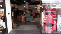 Shopping à la 1ère boutique éphémère d'Emmaus à Marseille
