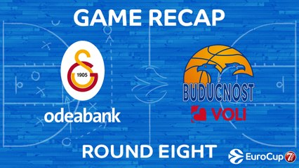 7DAYS EuroCup Highlights Regular Season, Round 8: Galatasaray 82-61 Buducnost