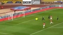 Buts Monaco (ASM) - Caen (SMC) résumé vidéo (2-0) - Coupe de la ligue