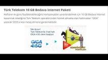 Türk Telekom Bedava İnternet 2018