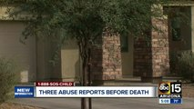 Three child abuse reports before Valley child death