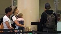Olivia Wilde And Jason Sudeikis Take Their Munchkins On Vacation