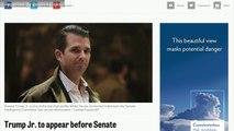 Trump Jr. To Appear Before Senate Intelligence Committee