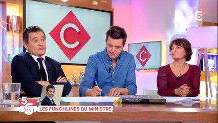 Gérald Darmanin balance son numéro de téléphone en direct à la télévision