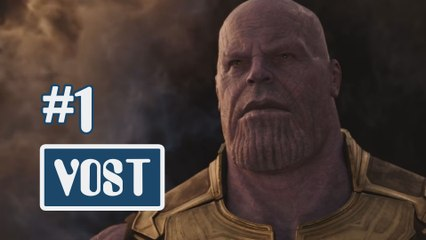 Avengers : Infinity War - Bande-annonce 1 [HD/VOST]